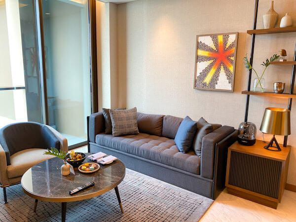 キンプトン マーライ バンコク(Kimpton Maa-Lai Bangkok)の1ベッドルーム レジデンス(One Bed Room Residence)客室3