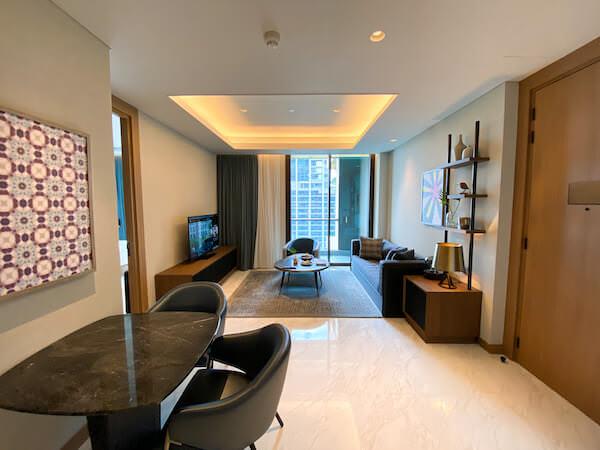 キンプトン マーライ バンコク(Kimpton Maa-Lai Bangkok)の1ベッドルーム レジデンス(One Bed Room Residence)客室1