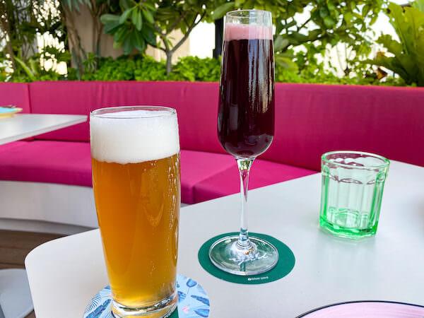 キンプトン マーライ バンコク(Kimpton Maa-Lai Bangkok)のスカイバー「バーヤード(Bar.Yard)」で飲んだビール