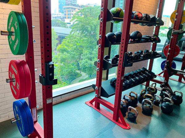 キンプトン マーライ バンコク(Kimpton Maa-Lai Bangkok)のフィットネスジム2
