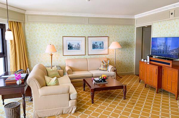 マンダリン オリエンタル バンコク(Mandarin Oriental Bangkok)の客室1