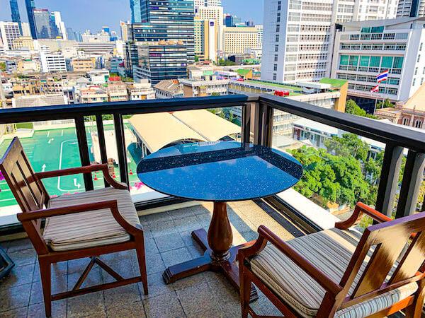 マンダリン オリエンタル バンコク(Mandarin Oriental Bangkok)の客室バルコニー