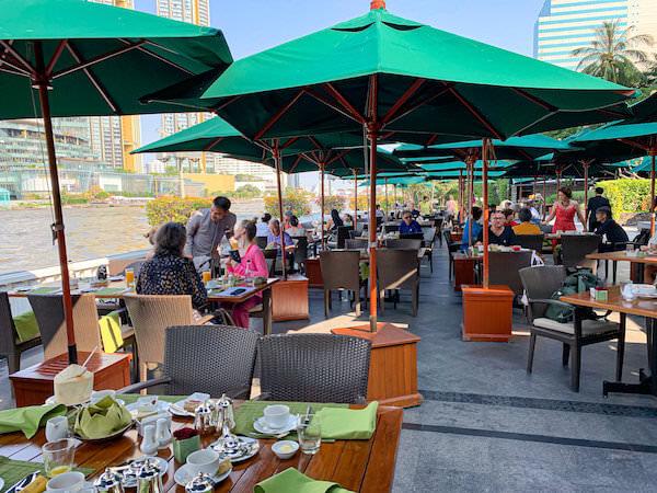 マンダリン オリエンタル バンコク(Mandarin Oriental Bangkok)の朝食会場