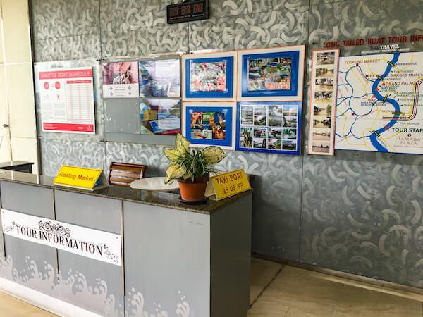 ラマダ プラザ バンコク メナム リバーサイド(Ramada Plaza Bangkok Menam Riverside)のボートタクシー乗り場