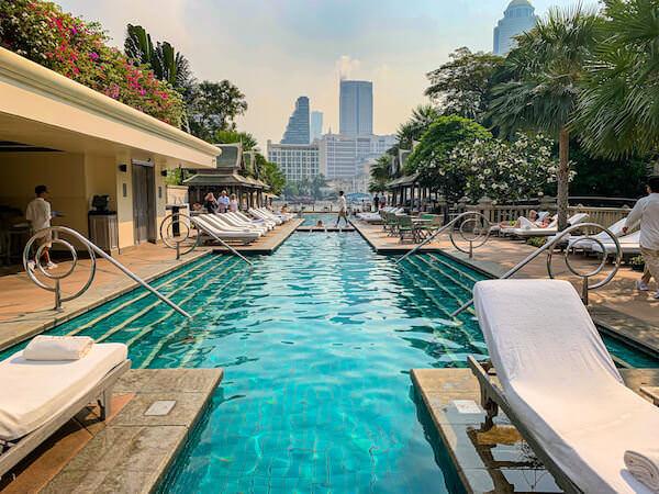 ザ ペニンシュラ バンコク(The Peninsula Bangkok)のプール