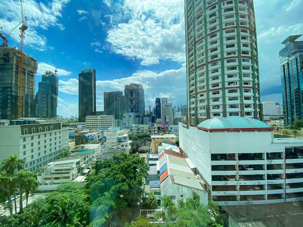 ジャスミン 59 ホテル(Jasmine 59 Hotel)客室のバルコニーから見える景色
