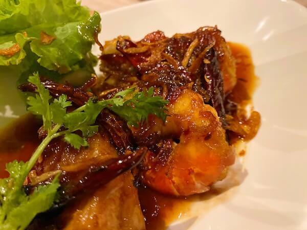 ナバーナネイチャーエスケープ(Navana Nature Escape)のレストランで食べた夕食1