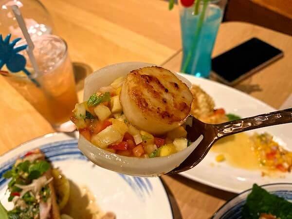 ナバーナネイチャーエスケープ(Navana Nature Escape)のレストランで食べた夕食4