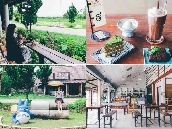 チェンライの旅館カフェ2