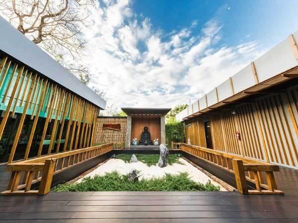 ゼン ヴィラ カオ ヤイ(Zen Villa Khao Yai)の庭園