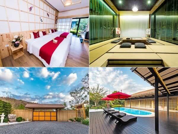 ゼン ヴィラ カオ ヤイ(Zen Villa Khao Yai)の客室・プール・庭園
