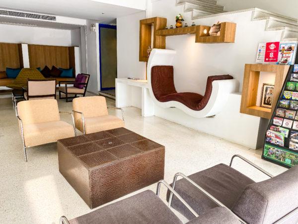 アヤブティックホテル パタヤ(Aya Boutique Hotel Pattaya)のレセプションロビー2