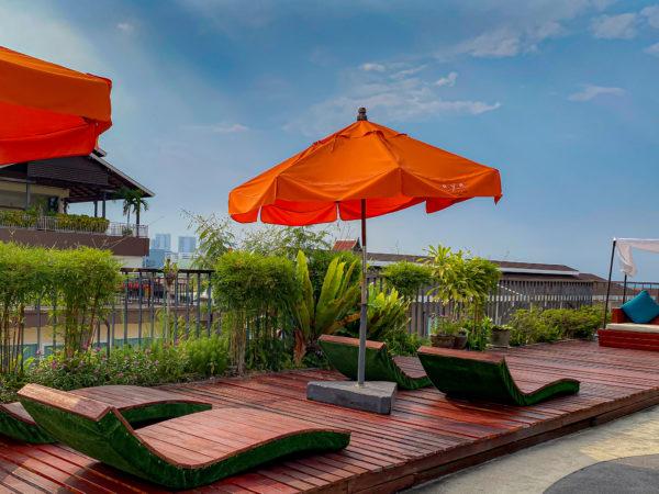 アヤブティックホテル パタヤ(Aya Boutique Hotel Pattaya)の屋上テラス1