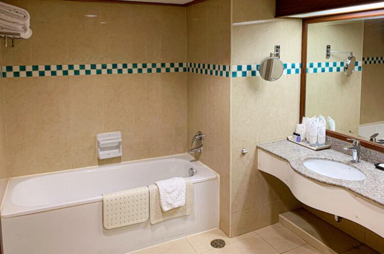 バイヨークスカイホテル(Baiyoke Sky Hotel)のバスルーム