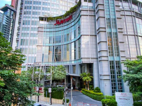 バンコク マリオットホテル スクンビット(Bangkok Marriott Hotel Sukhumvit)の外観