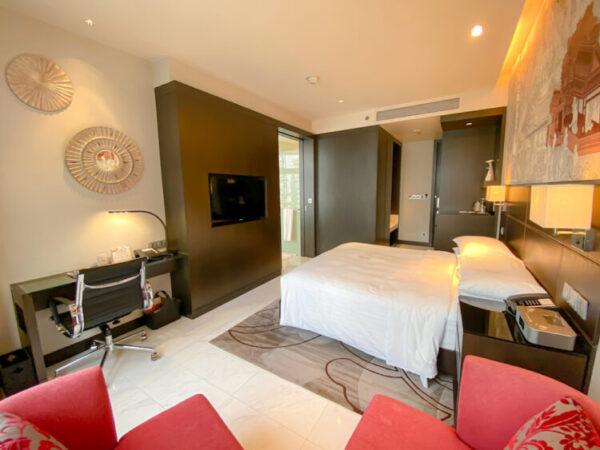 バンコク マリオットホテル スクンビット(Bangkok Marriott Hotel Sukhumvit)の客室2