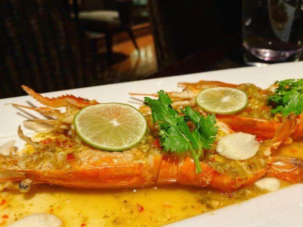 クラウンプラザ バンコク ルンピニ パーク(Crowne Plaza Bangkok Lumpini Park)のレストラン「パノラマ(PANORAMA)」で食べた料理1
