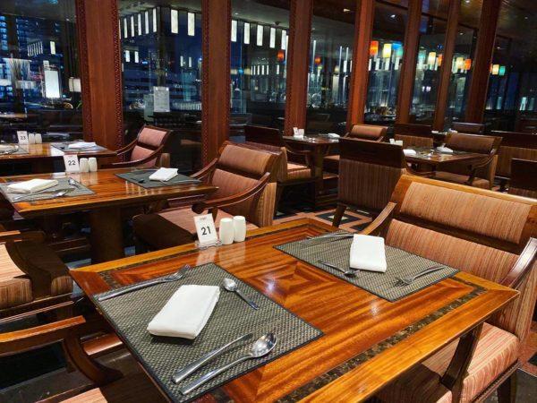 クラウンプラザ バンコク ルンピニ パーク(Crowne Plaza Bangkok Lumpini Park)のレストラン「パノラマ(PANORAMA)」2