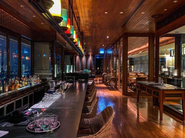 クラウンプラザ バンコク ルンピニ パーク(Crowne Plaza Bangkok Lumpini Park)23階のレストラン「パノラマ(PANORAMA)」