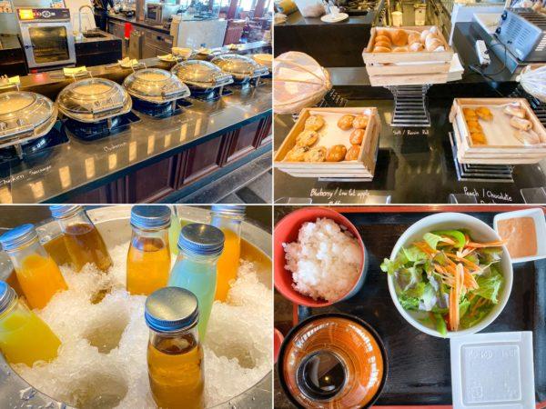 クラウンプラザ バンコク ルンピニ パーク(Crowne Plaza Bangkok Lumpini Park)の朝食ビュッフェ
