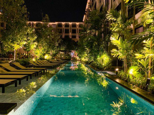 フォー ポインツ バイ シェラトン パトン ビーチ リゾート(Four Points by Sheraton Phuket Patong Beach Resort)のプール6