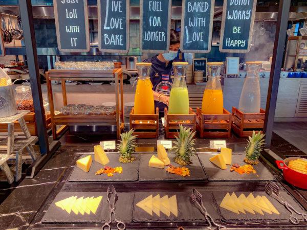 フォーポインツ バイ シェラトン パトン ビーチ リゾート(Four Points by Sheraton Phuket Patong Beach Resort)の朝食5