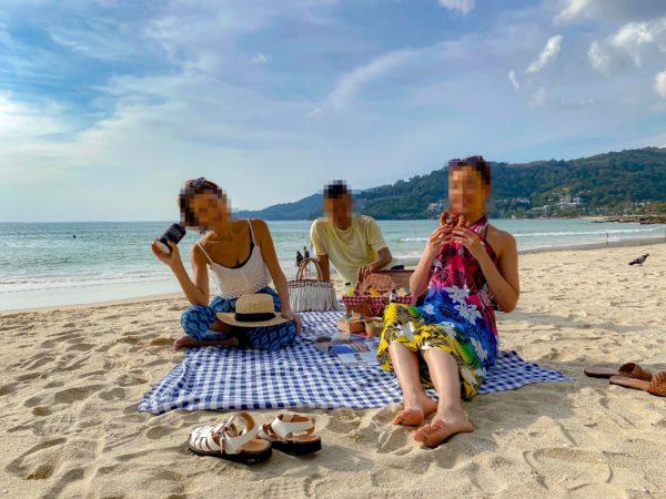 フォーポインツ バイ シェラトン パトン ビーチ リゾート(Four Points by Sheraton Phuket Patong Beach Resort)でのピクニックサービス1