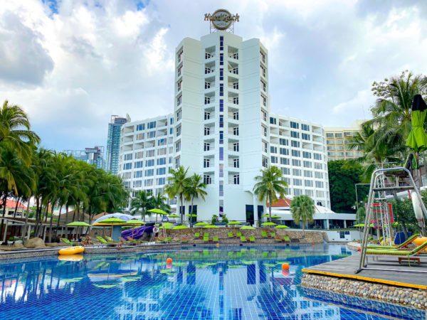 ハードロックホテル パタヤ(Hard Rock Hotel Pattaya)の外観