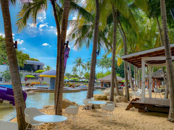 ハードロックホテル パタヤ(Hard Rock Hotel Pattaya)のサンドプール