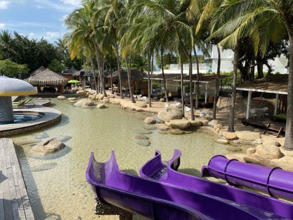 ハードロックホテル パタヤ(Hard Rock Hotel Pattaya)にある子供用ウォータースライダー2