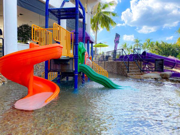 ハードロックホテル パタヤ(Hard Rock Hotel Pattaya)にある子供用ウォータースライダー3