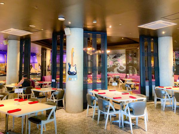 ハードロックホテル パタヤ(Hard Rock Hotel Pattaya)の朝食会場