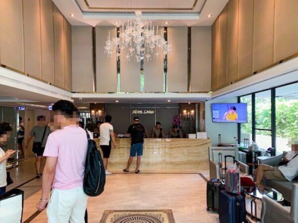 ホープランド ホテル アンド レジデンス スクンビット 8(HopeLand Hotel Sukhumvit 8)のエントランスロビー