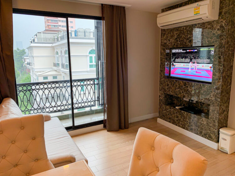 ホープランド ホテル アンド レジデンス スクンビット 8(HopeLand Hotel Sukhumvit 8)の1ベッドルームスイート客室2