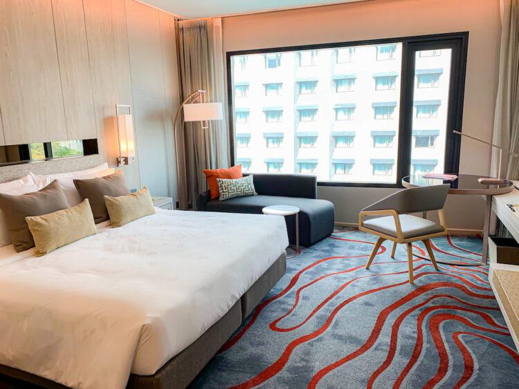 ホテル ニッコー バンコク(Hotel Nikko Bangkok)の客室1