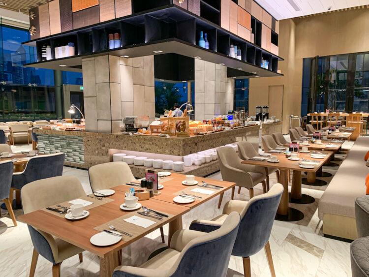 ホテル ニッコー バンコク(Hotel Nikko Bangkok)の朝食会場