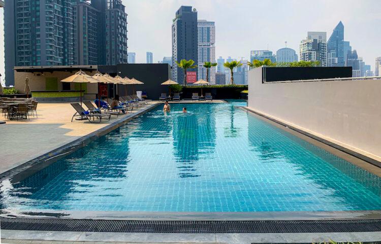 ホテル ニッコー バンコク(Hotel Nikko Bangkok)のプール