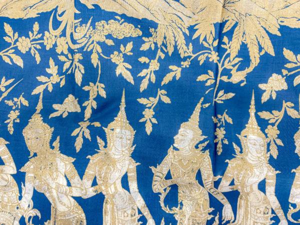 タイ寺院の壁画デザインパレオ