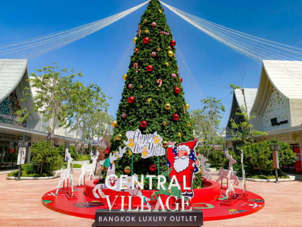 セントラルビレッジのクリスマスツリー