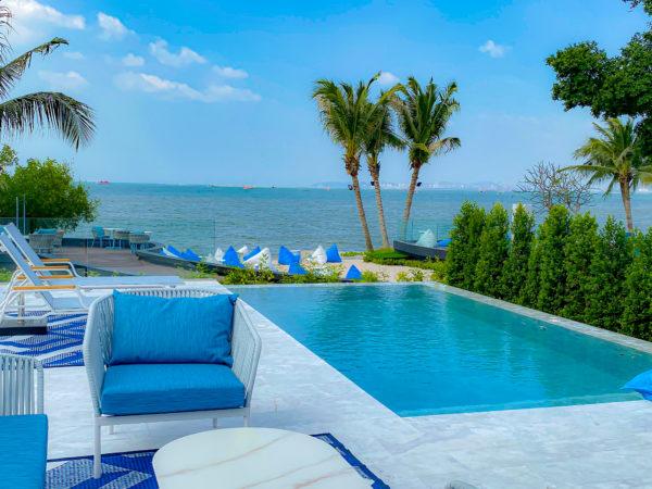 クラムパタヤ(Kram Pattaya)のプライベートヴィラ客室のプライベートプール2