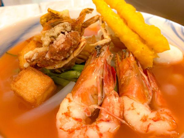 クラムパタヤ(Kram Pattaya)で食べたイエンタフォー