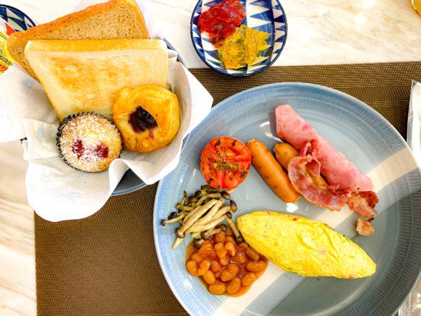 クラムパタヤ(Kram Pattaya)で食べた朝食