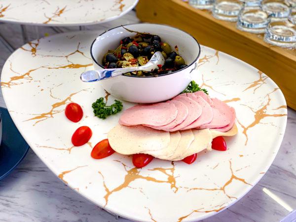 クラムパタヤ(Kram Pattaya)の朝食ハム