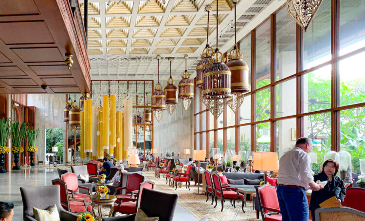 マンダリン オリエンタル バンコク(Mandarin Oriental Bangkok)のエントランスロビー1