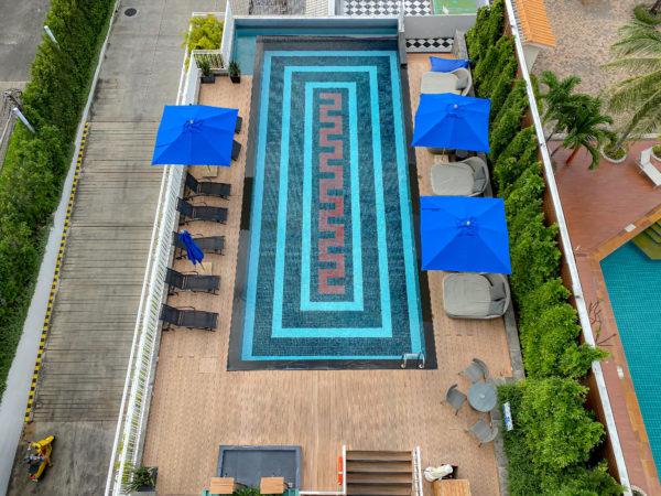 メラマーレ パタヤ(Mera Mare Pattaya)のプール1