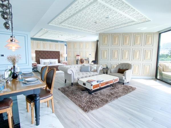 メラマーレ パタヤ(Mera Mare Pattaya)のジュニアスイート オーシャンビュー(Junior Suite with Ocean View)客室1