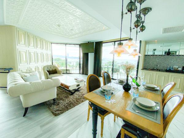 メラマーレ パタヤ(Mera Mare Pattaya)のジュニアスイート オーシャンビュー(Junior Suite with Ocean View)客室2