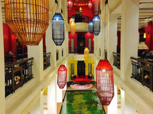 シャンハイ マンション バンコク (Shanghai Mansion Bangkok)の中華風インテリア装飾