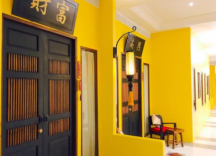 シャンハイ マンション バンコク (Shanghai Mansion Bangkok)の客室入り口
