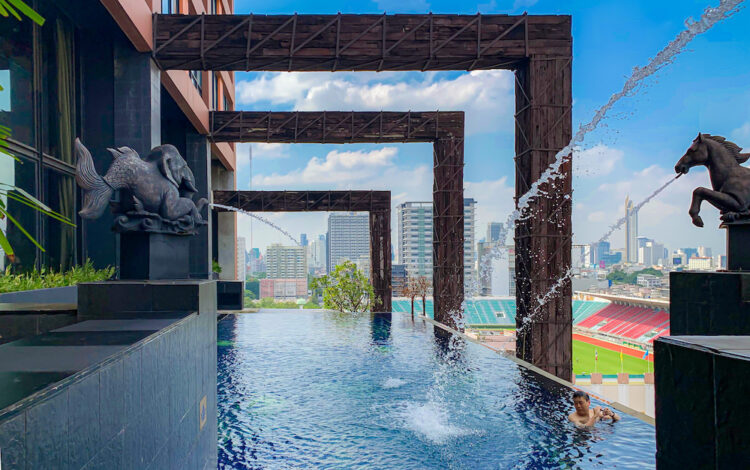 サイアム アット サイアム デザイン ホテル バンコク(Siam @ Siam Design Hotel Bangkok)のプール